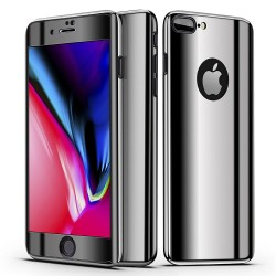 iPhone 7 360° 3in1 FullCover Skal V2 + 0.26mm 9H Glas