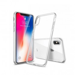 iPhone XS Stötdämpande Silikon Skal Simple®