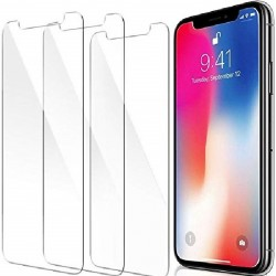 3-PACK iPhone XS Max Premium Skärmskydd CrystalClear®