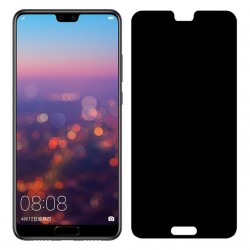 Huawei P20 Lite Privacy Härdat glas 0.26mm 2.5D 9H