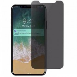 iPhone XR Privacy Härdat glas 0.26mm 2.5D 9H