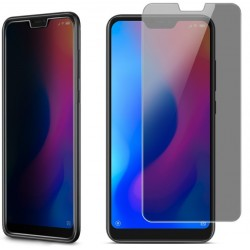 Xiaomi Redmi 6A Privacy Härdat glas 0.26mm 2.5D 9H