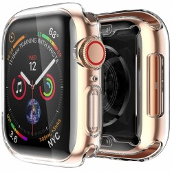 Heltäckande Ultratunn TPU Skal Apple Watch 44mm