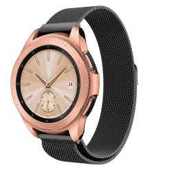 Samsung Galaxy Watch 46mm LTE Armband Milanesisk Loop Svart