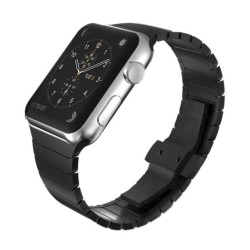 Länkarmband Apple Watch 38mm Svart