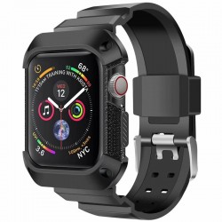Apple Watch 42mm Stöttåligt Skal med Armband TerraActive®