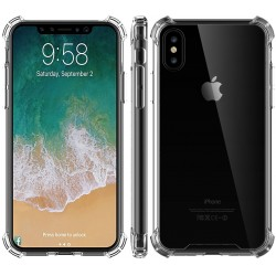 iPhone X Stötdämpande Silikon Skal Shockr®